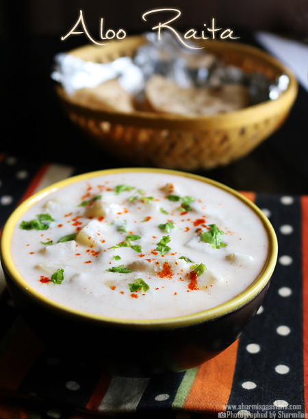 Aloo Raita Recipe