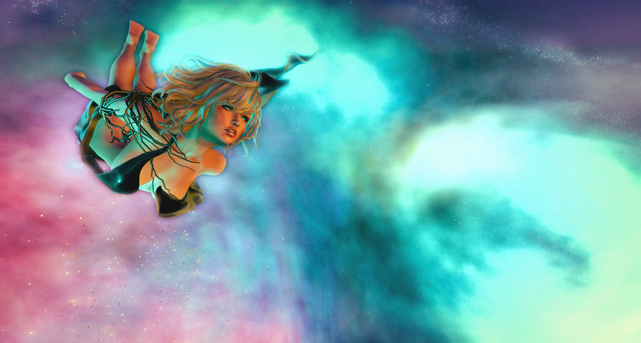 E.V.E Tornado Nebula Eyes