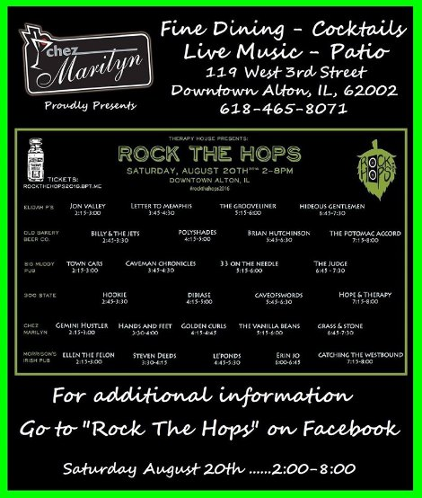Rock The Hops 8-20-16