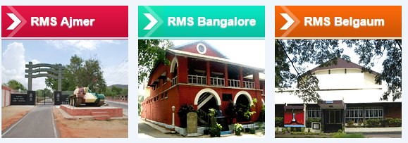 RMS Ajmer, Bangalore and Belgaum Admission