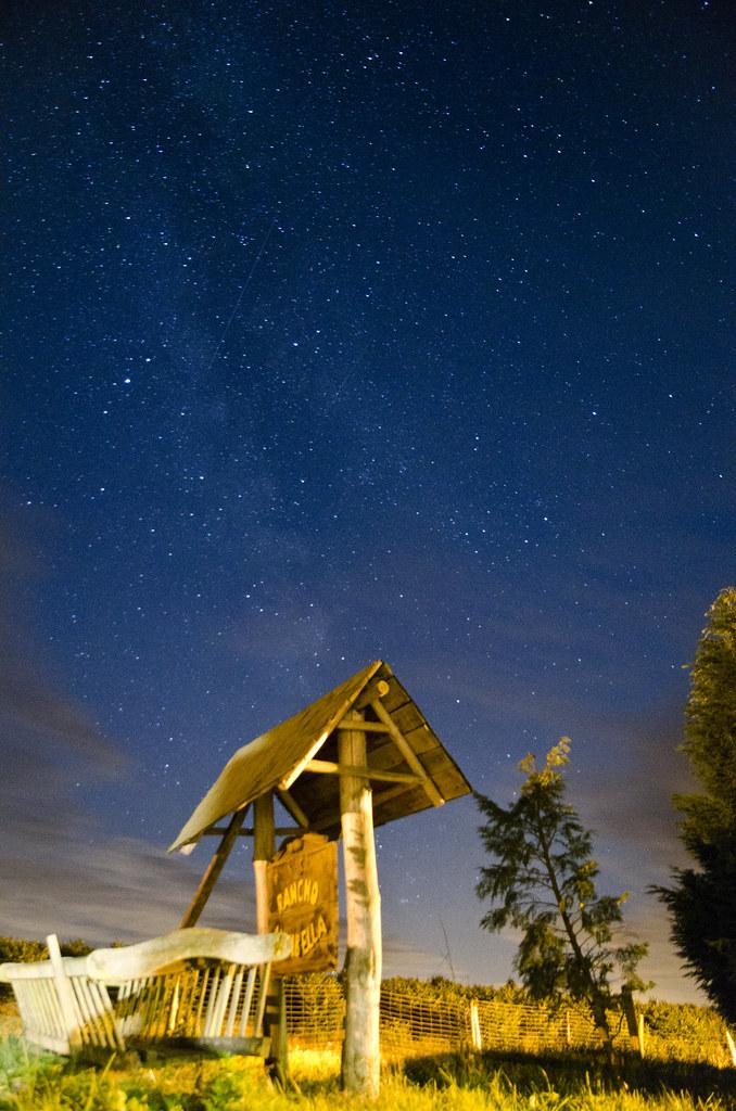 Nuit étoilée à Brzozowo, Pologne