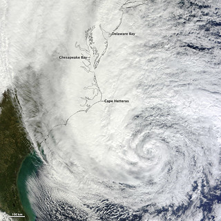 Hurricane Sandy off the Carolinas [detail] | by NASA Goddard Photo and Video