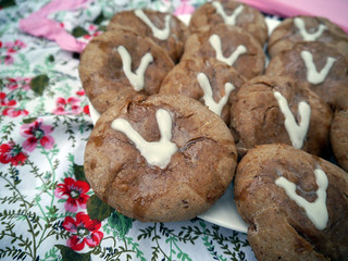 Hot Cross Buns for the Virtual Vegan Potluck (0018) | by smiteme