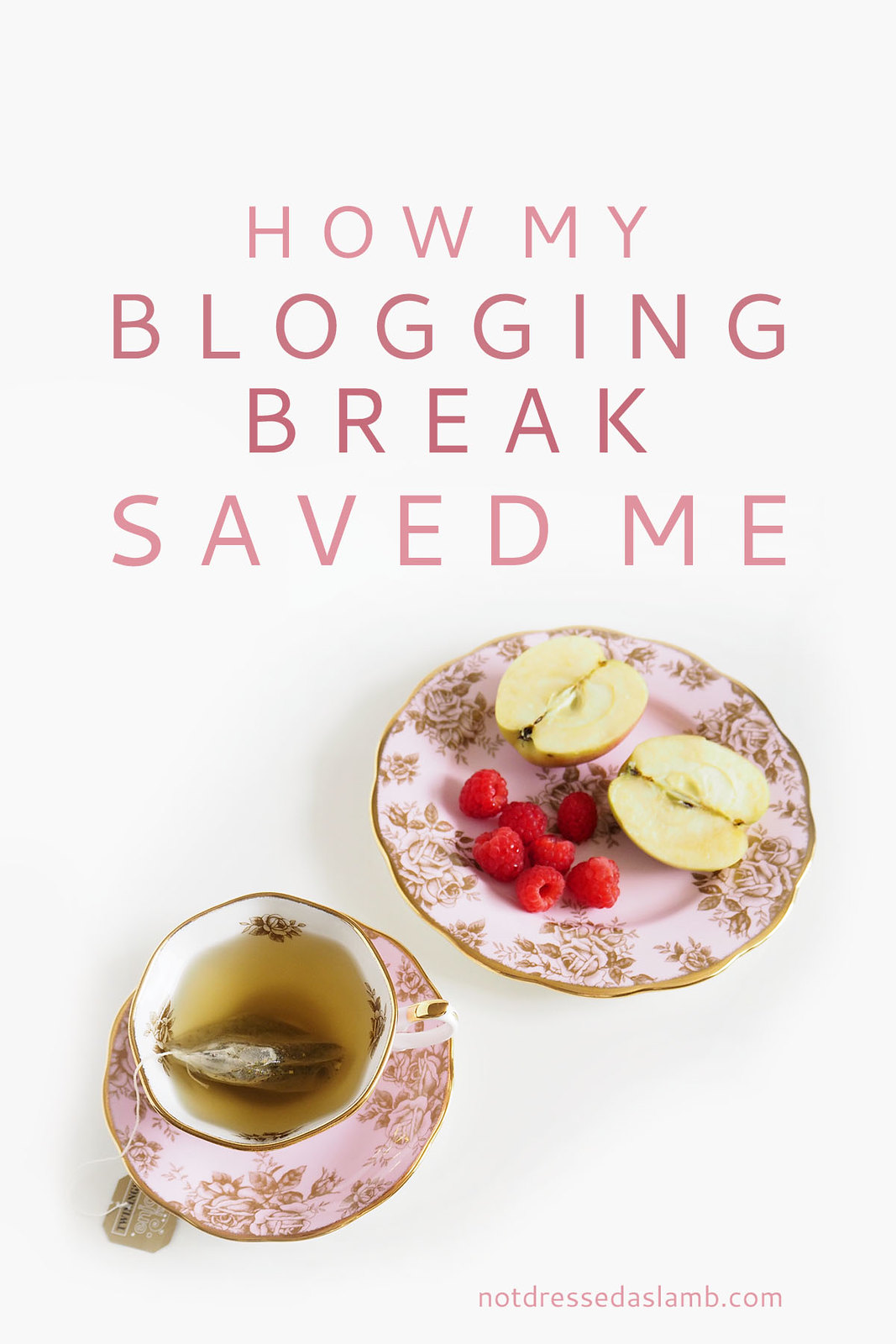 Blogging Tips: How my blogging break saved me - emotionally and financially (The benefits of a well-earned break from blogging) | Not Dressed As Lamb