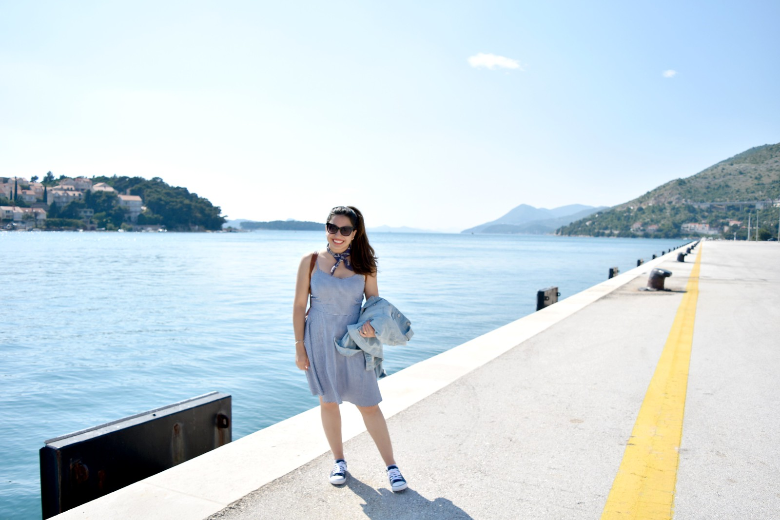 Mediterranean cruise spring outfit