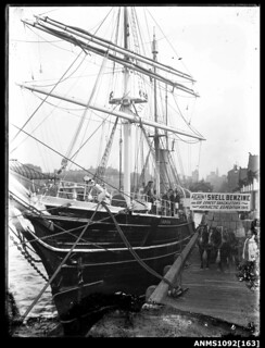 AURORA berthed in Sydney Harbour, Circular Quay West, before Ernest Shackleton's Antarctic expedition | by Australian National Maritime Museum on The Commons