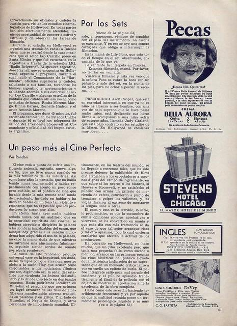 Cinelandia, Tomo XI Nº 1, Janeiro 1937 - 61