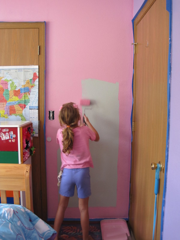 Painting Room - pink and purple 005