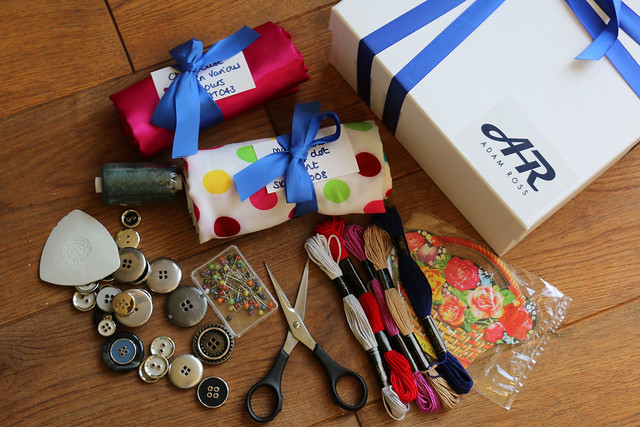 The Sewing Weekender Goodie Bags