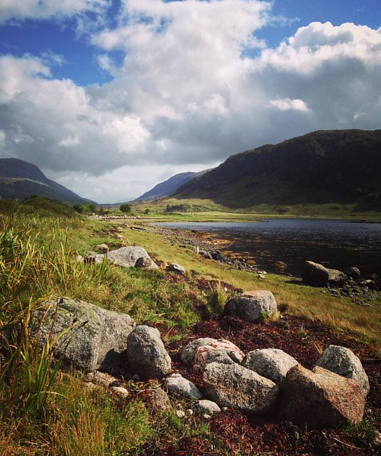 Loch Sunart to Glen Tarbert, Scottish Highlands #scotland #lochsunart #scottishhighlands #glentarbert #scottishscenery #sealoch