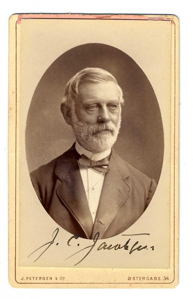Carlsberg - J C Jacobsen Signature 1886