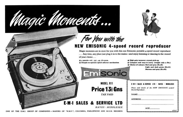 1958 Emisonic ad