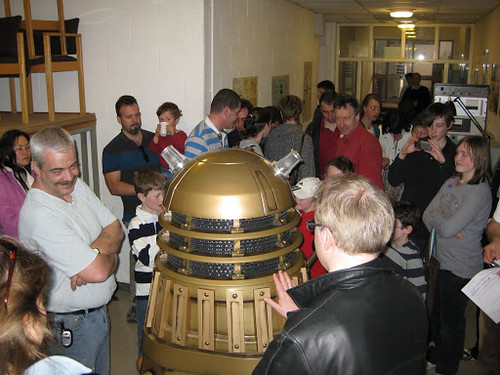 Dalek at Cambridge Sci Fest 2009 | by Athene Donald