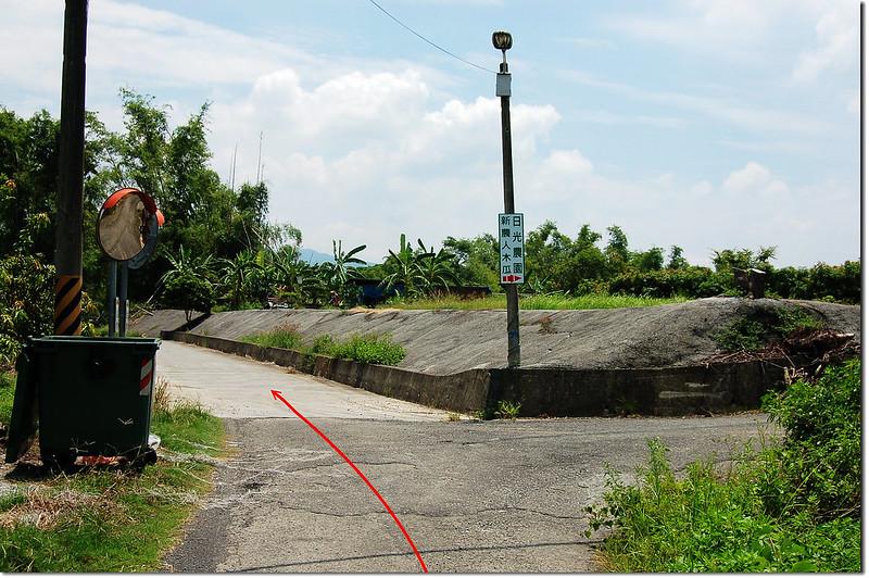 竹子鳥山行車岔路 1