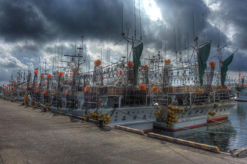 Port of Wakkanai on AUG 16, 2016 (1)