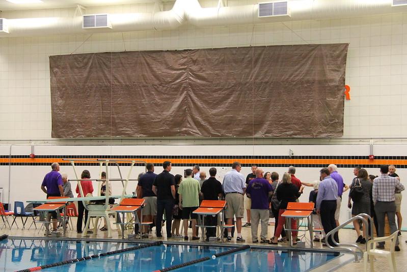 Slagle Aquatic Center Dedication