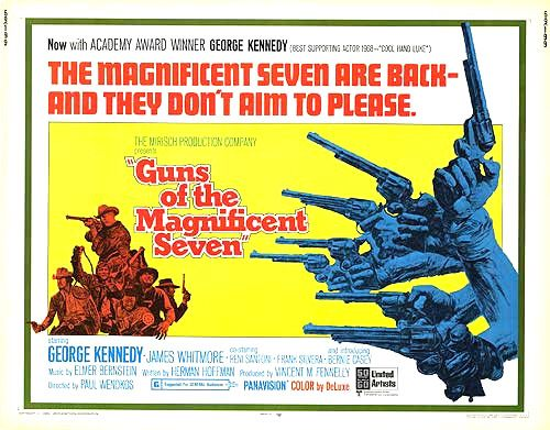 Guns of the Magnificent Seven - Poster 2