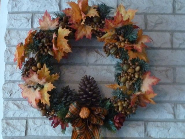 Autumn Wreath ~ From My Carolina Home