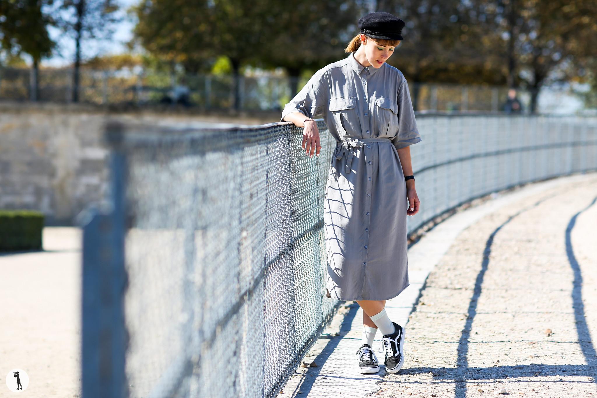 Isabelle Hardy at Paris Fashion Week