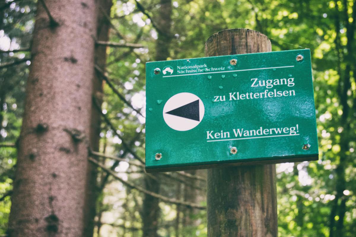 Zugang Rübezahlstiege