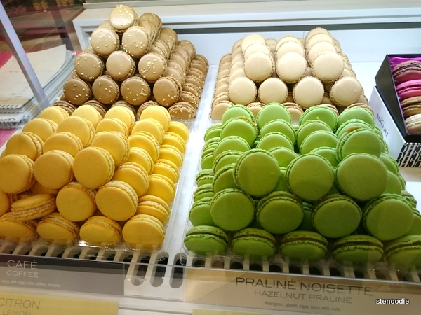 macarons at the airport