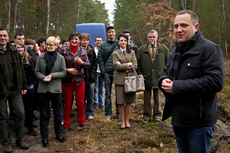 Sadzenie lasu Erasmusa
