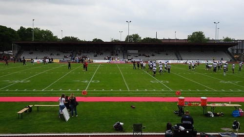 Düsseldorf Panther 14:36 Berlin Rebels (German Football League)