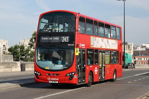 Arriva London North DW450 LJ11AAX