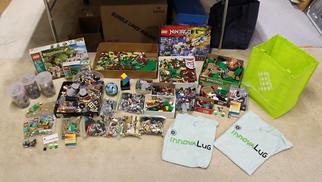 BrickFair VA 2016 Loot and Wrap-up