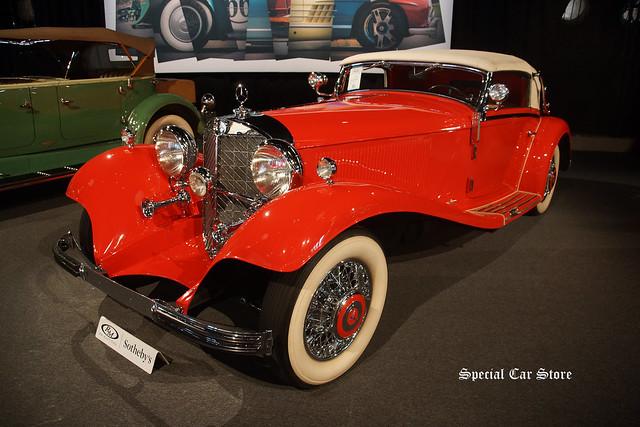1934 Mercedes-Benz 500 K Cabriolet A by Sindelfingen