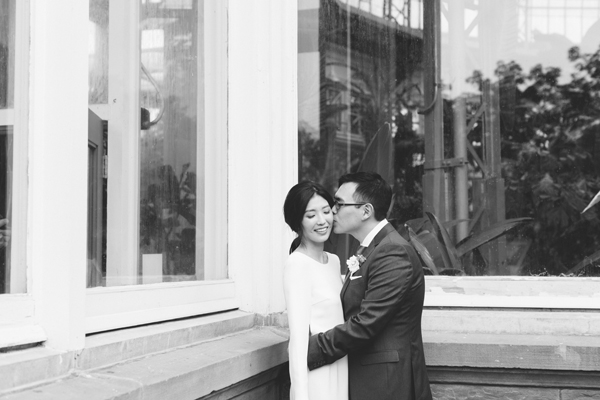 Celine Kim Photography Allan Gardens Auberge du Pommier romantic intimate restaurant Toronto fall wedding-29