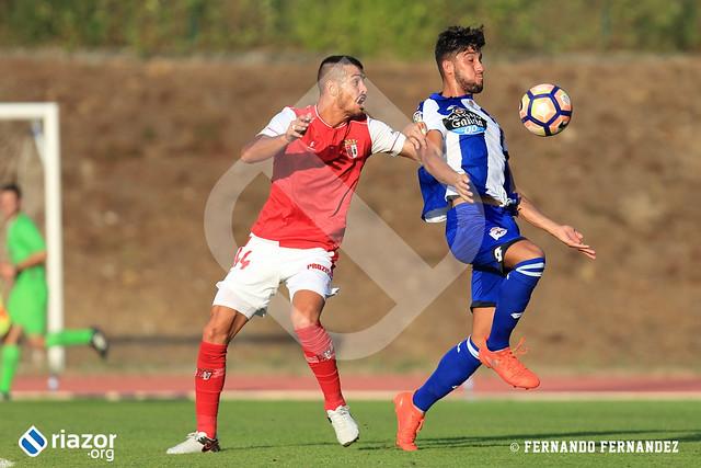 Amistoso. Sporting de Braga - RC Deportivo