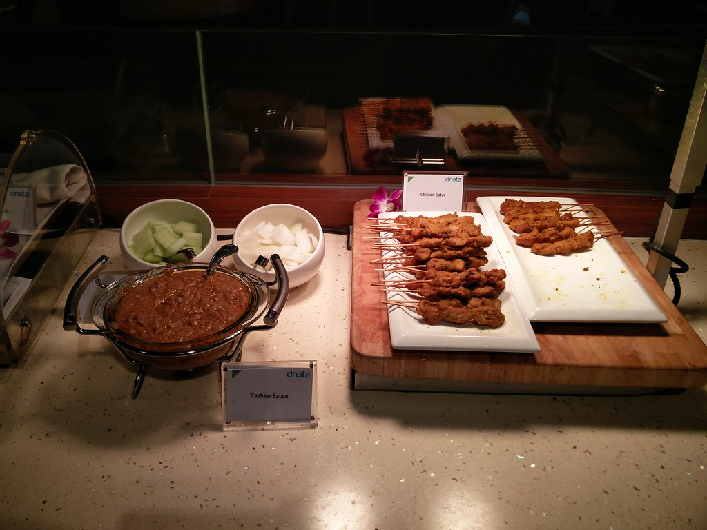 Satay at the buffet