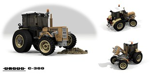 Ursus C-360 Tractor (1976 - 1992)