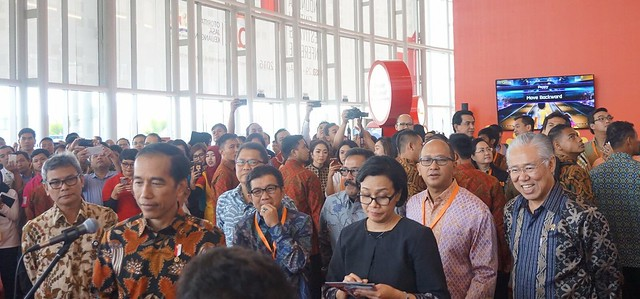 Presiden Joko Widodo menghadiri Indonesia Fintech Festival & Conference 2016