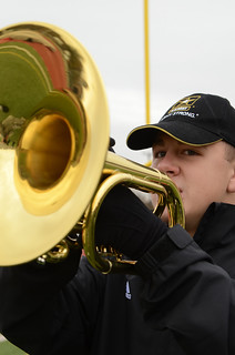 Joseph Baldwin Plays for the All-American Band | by goarmyphotos