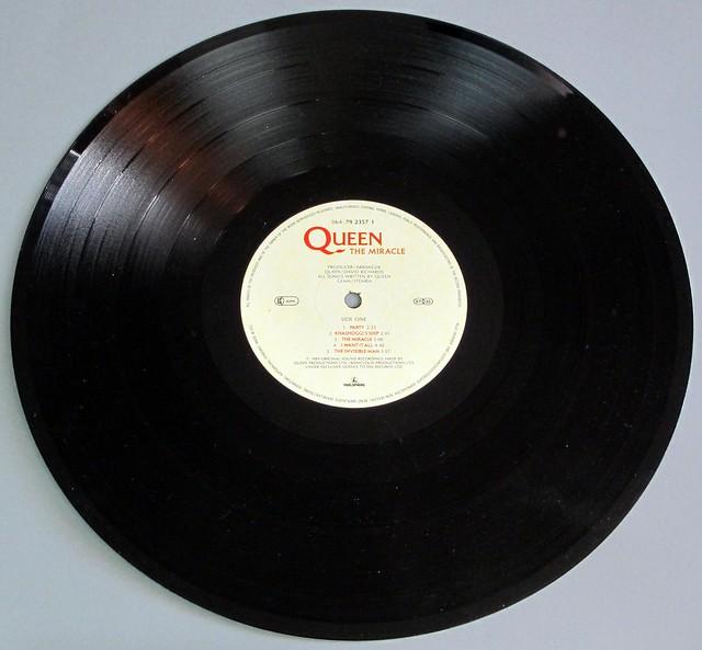 """QUEEN THE MIRACLE 12"""" LP VINYL"""