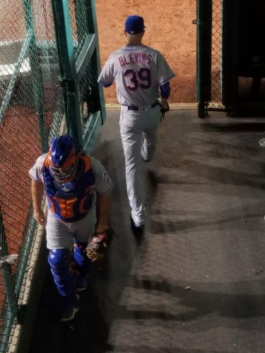 Jerry Blevins Heads into the Game