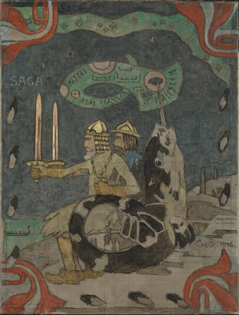 Gerhard Munthe - Saga, 1926