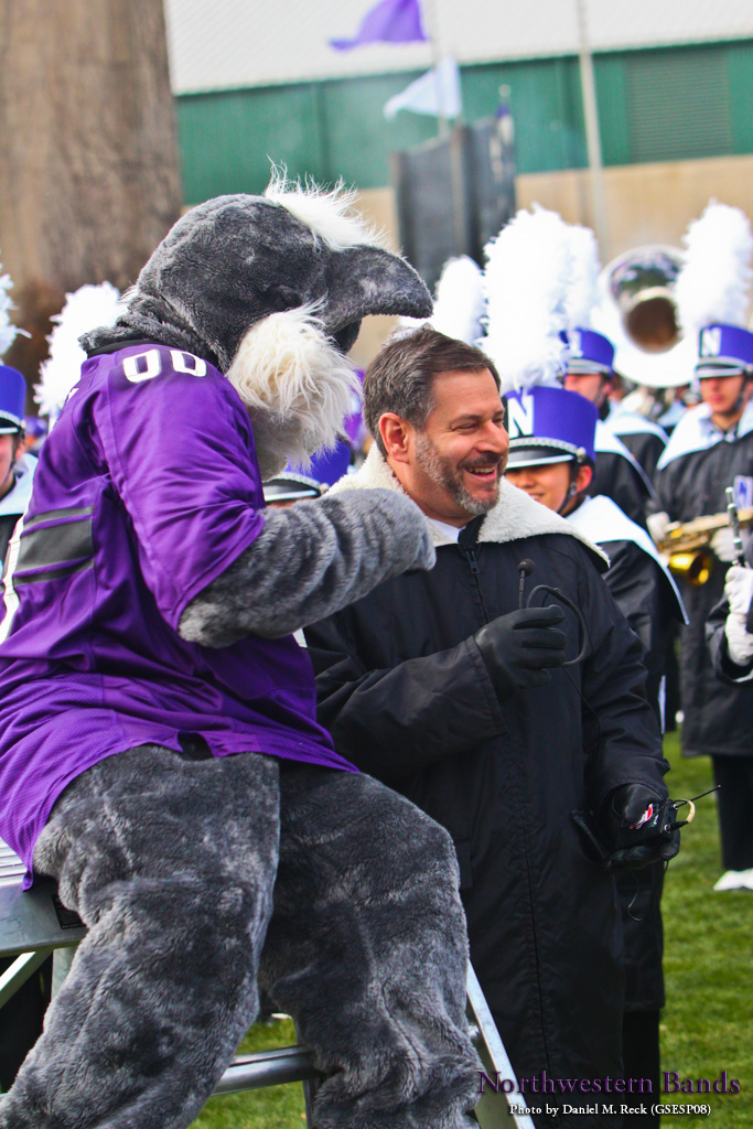 It's Pete Friedmann and Willie the Wildcat!