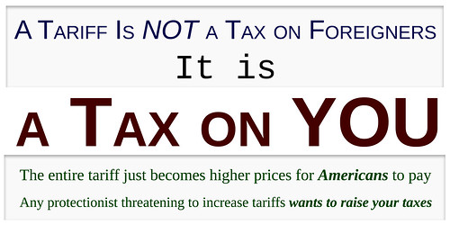 A Tariff is a Tax On YOU