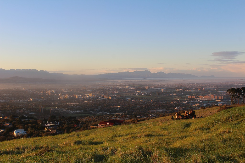View over Belville