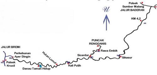 peta jalur