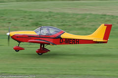 D-MERH - Aerostyle Breezer, rolling for departure on Runway 26L at Barton