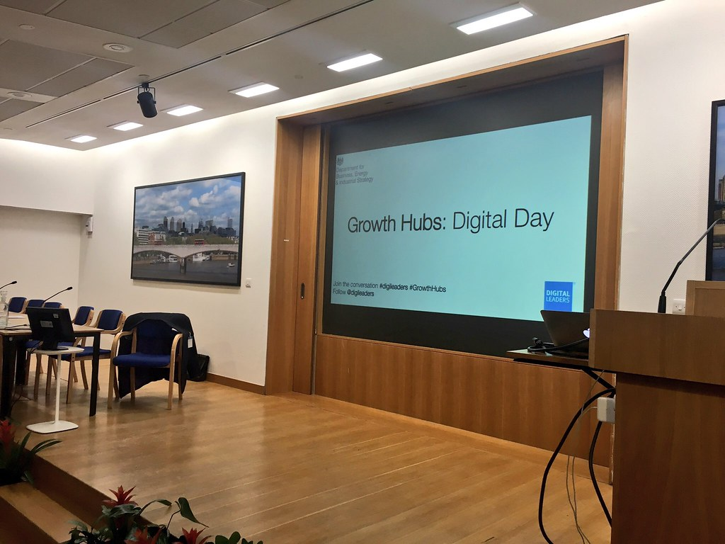 BEIS Growth Hubs Digital Day