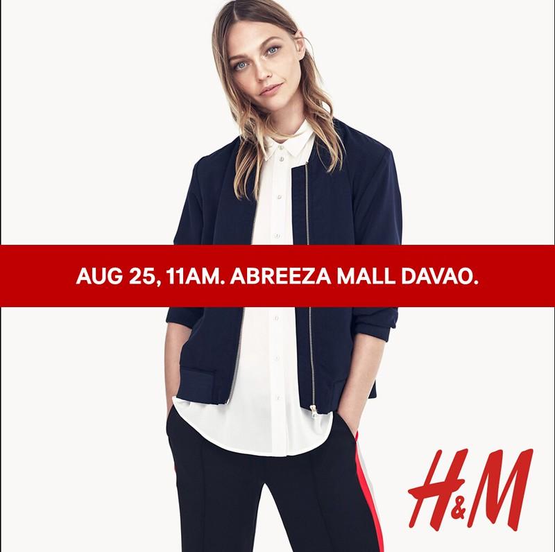 H&M davao