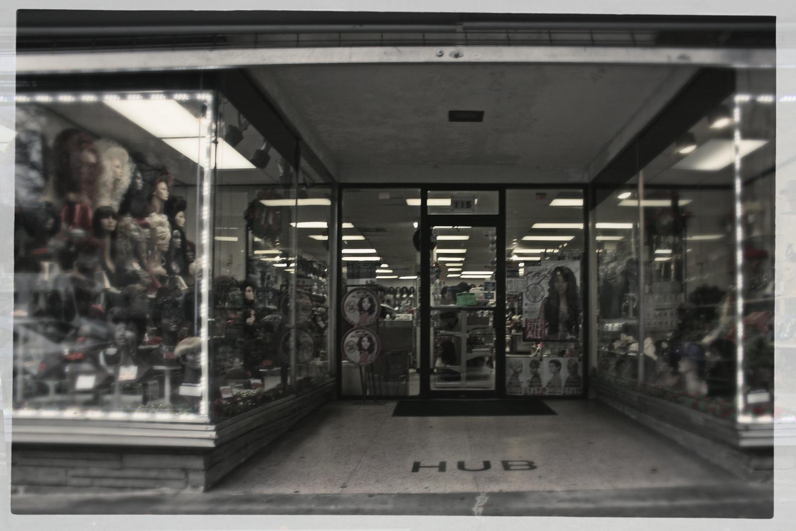 Wig Shop, Atlanta, 2012