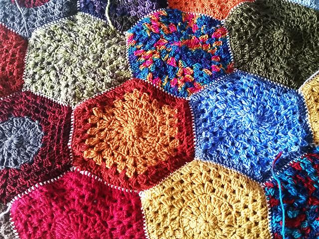Crochet blanket/throw