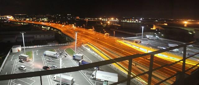 阪神高速湾岸線泉大津PAとホテルきららりぞーと関空 (6)