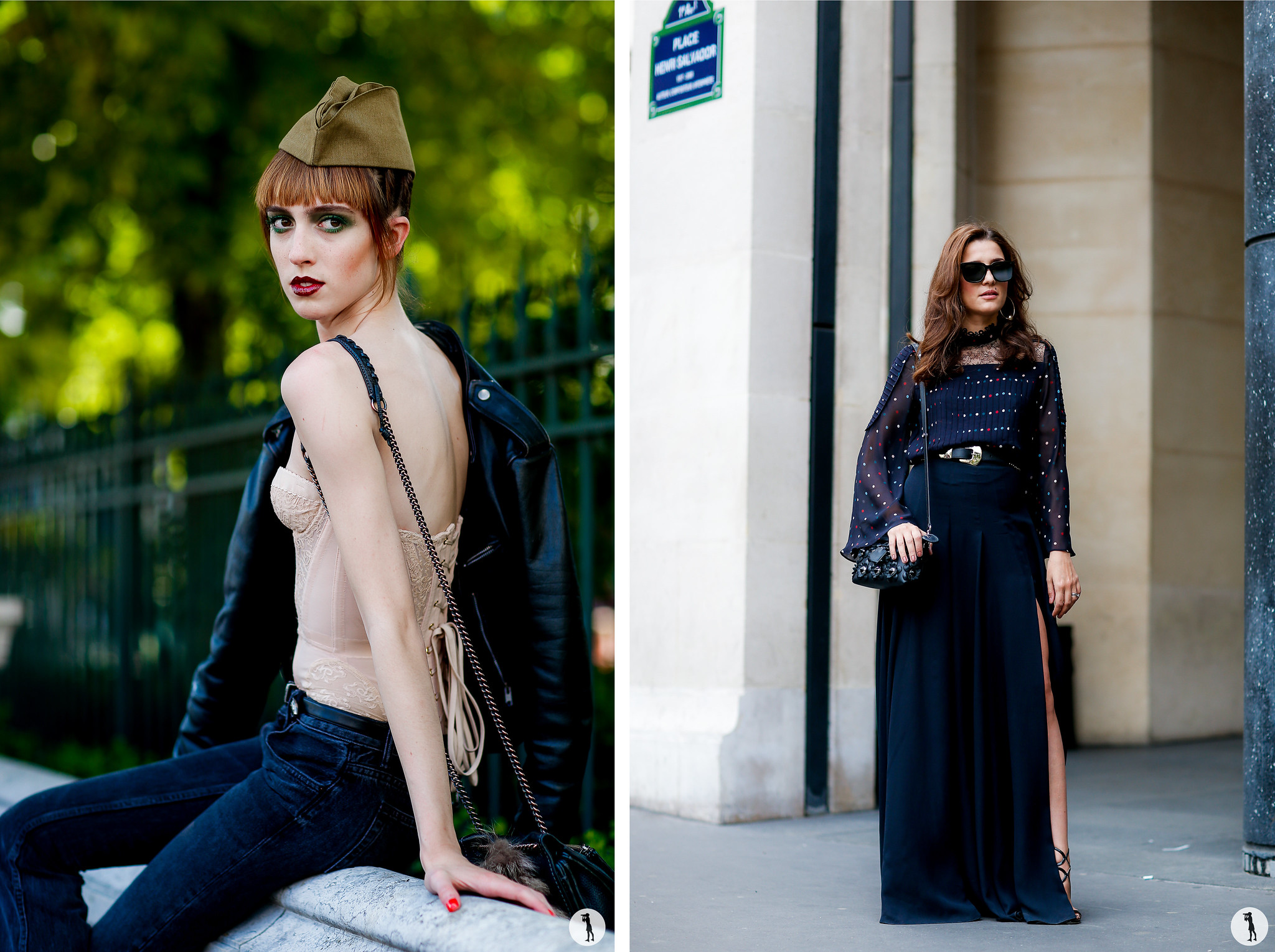 Street style - Paris Fashion Week Haute Couture FW16-17